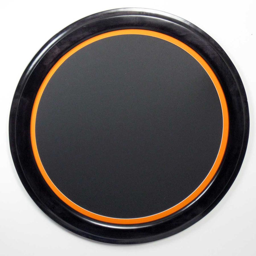 Circle Picture Frames Stained Black
