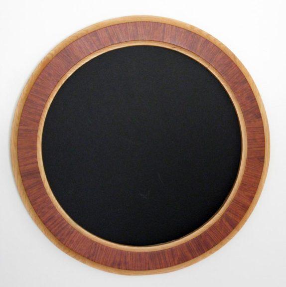 Exotic Bubinga Veneer Round Frames