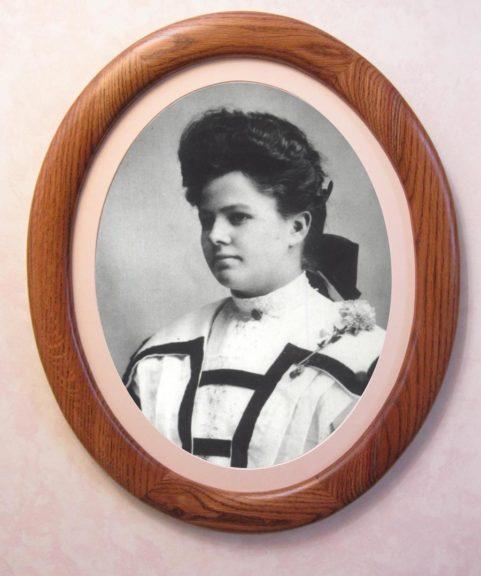 Oak Oval Picture Frame