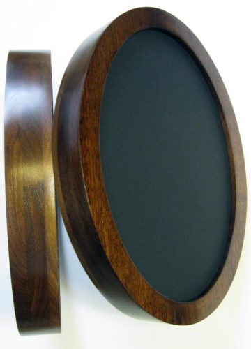 Deep Oval Picture Frame