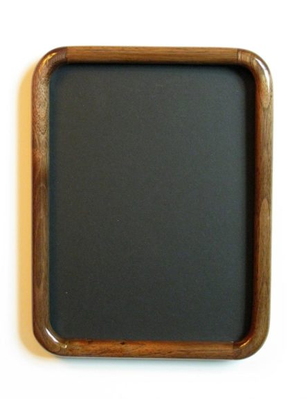 Walnut Round Cornered Picture Frame