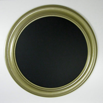 Circle Picture Frame, Metallic Gold