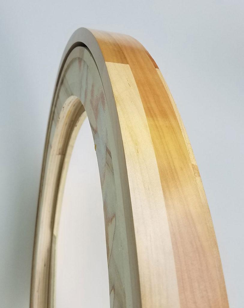 Maple Hardwood Floating Frame