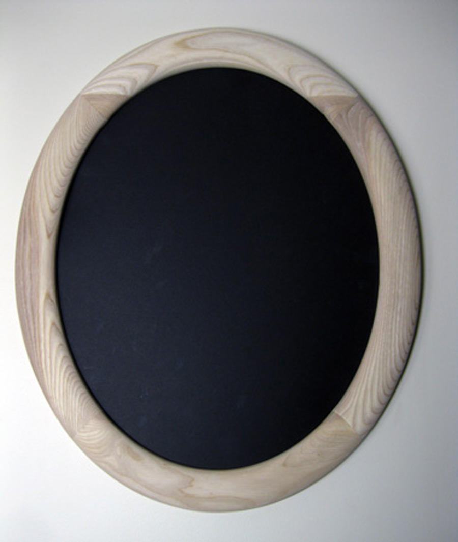 Oval Frame Made of Ash Hardwood