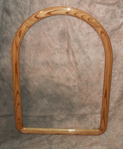 Oak Cathedral Frame, Stained Walnut