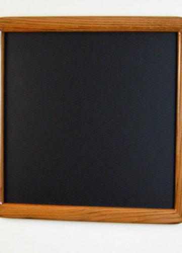 Oak Round Cornered Picture Frame with a Dark Walnut Stain