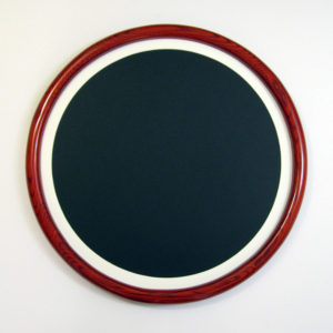Oak Round Frame, Narrow Profile and Narrow Round Matte