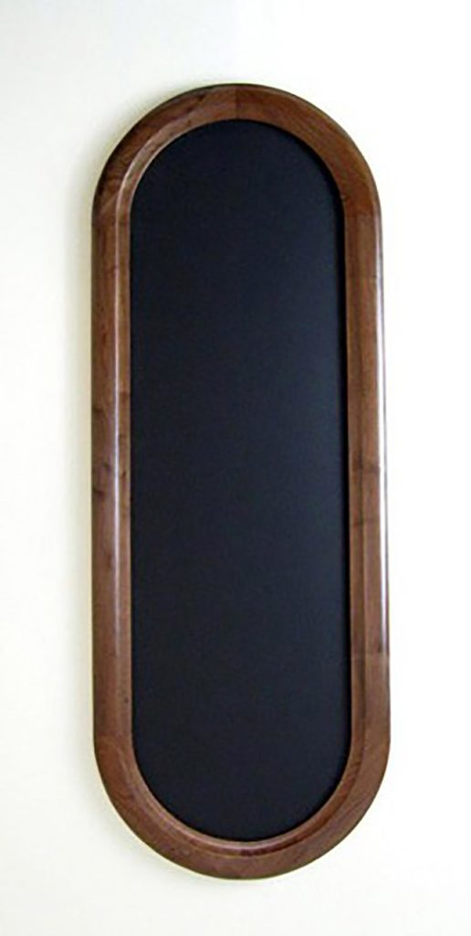 Oblong Picture Frame Made of Walnut