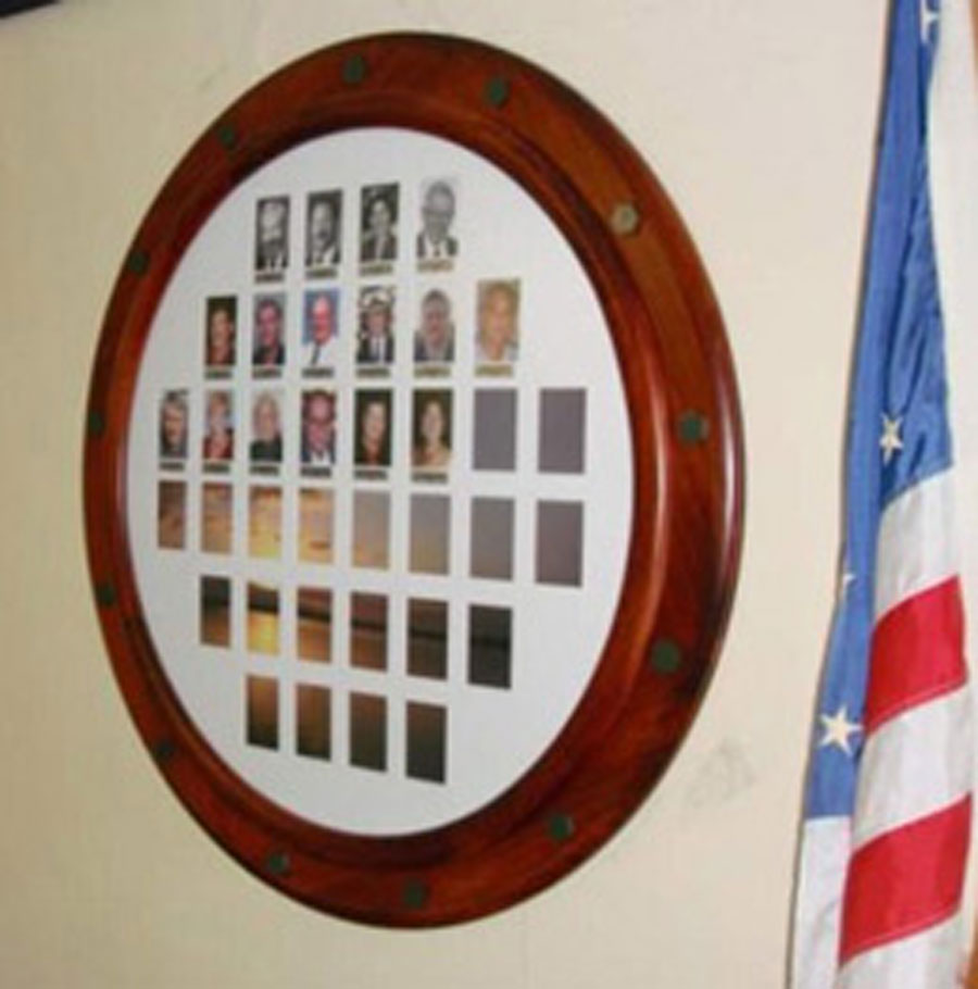 Our Nautical Picture Frames are designed to look like a porthole on a ship.