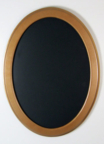 """Oval Frame With """"Hammered Copper"""" Finish"""