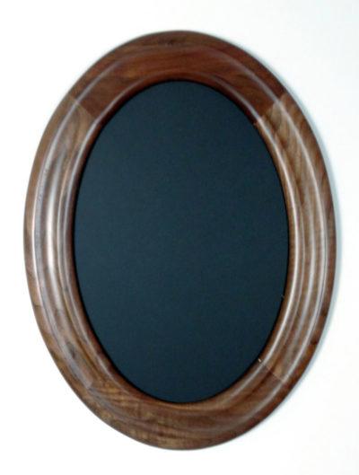 Oval Frames Made of Walnut