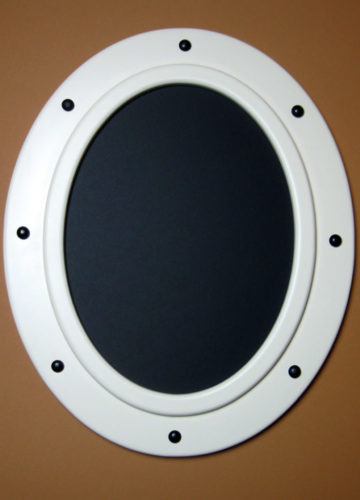 Round Nautical Picture Frame