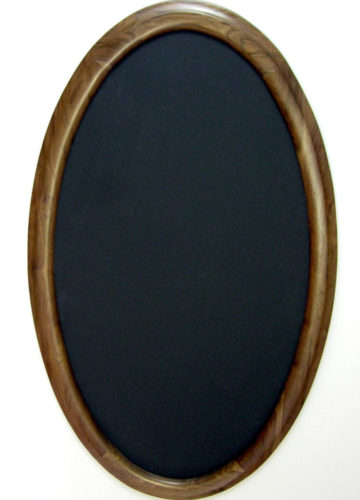 Oval Picture Frame For a Custom Shape