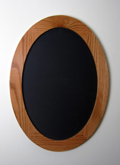 Oval Picture Frames made of Oak