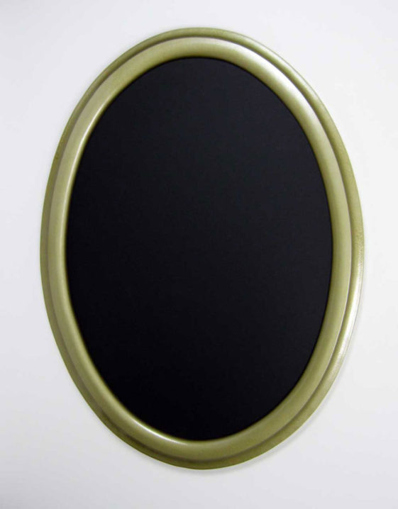 Oval Picture Frames Painted Gold