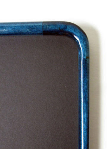 Picture frames stained blue? Yes, we can do it…