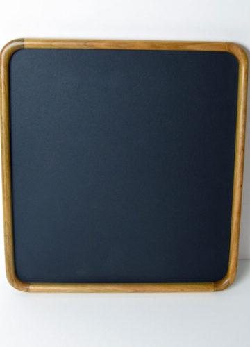 Round Cornered Frame Cherry Hardwood