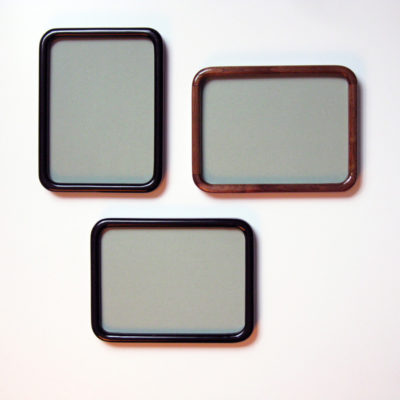 Round Cornered Picture Frame with Petite, Narrow Profile