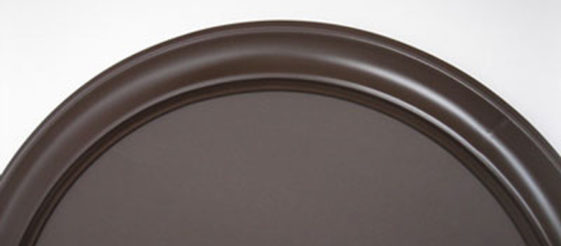 Round Frame Painted Espresso Color