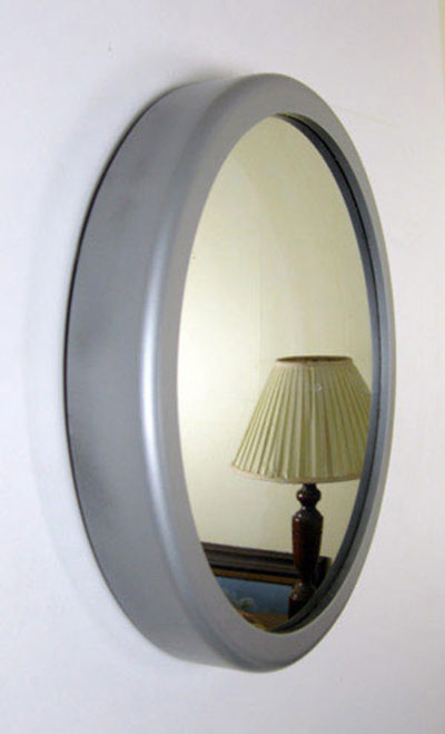 Round Frame Painted Nickel Color