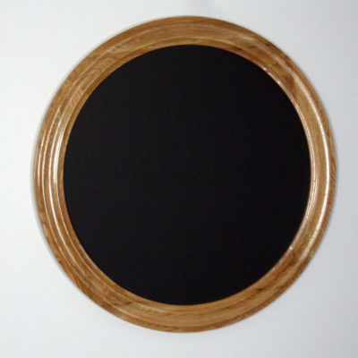 Round Oak Frame, Center Profile with Inside – Outside Cove