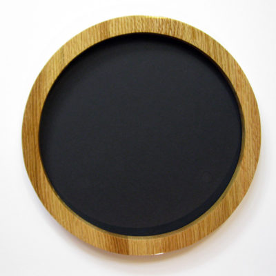 Round Picture Frame, Oak
