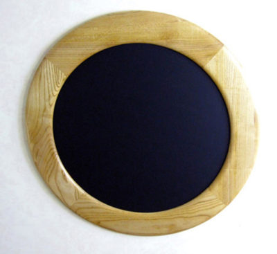 Round Picture Frame made of Ash Hardwood