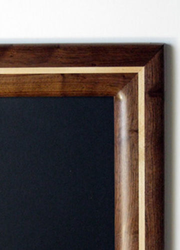 Walnut Picture Frame with Maple Inlay