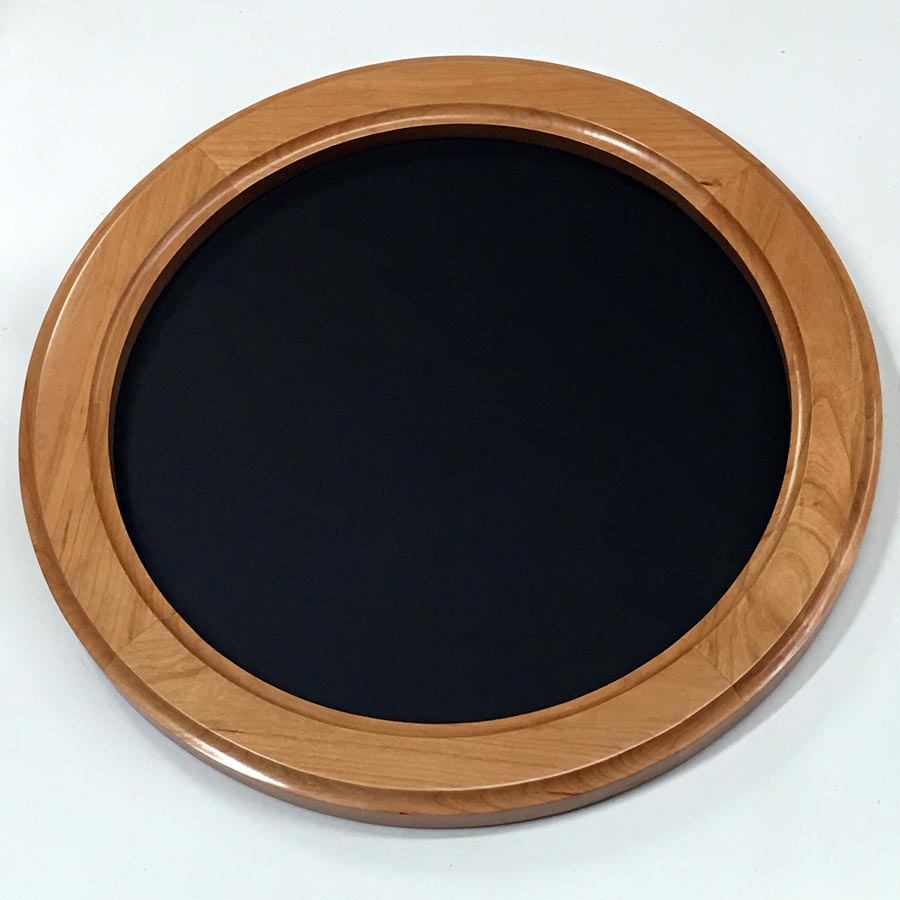 Round Frames Made Of Cherry Hardwood