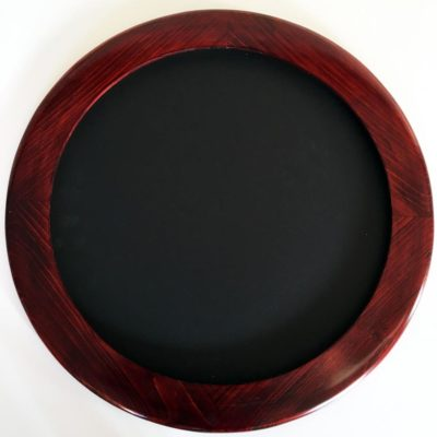Round frames made of Cypress Hardwood