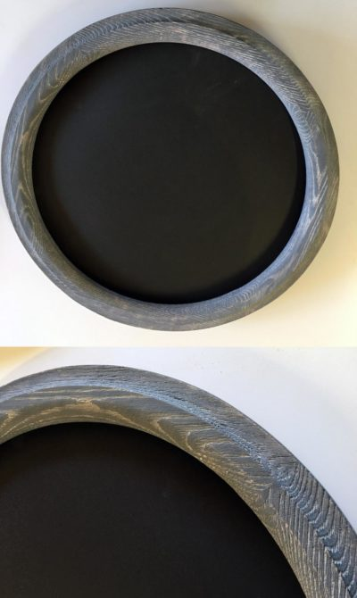 Barn - Wood Round Frame Made of Oak