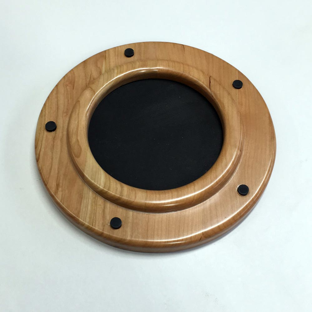 Small Cherry Porthole Frame