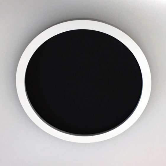 Nice simple design profile for a round frame
