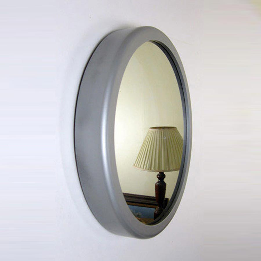 Round Frame Painted Nickel