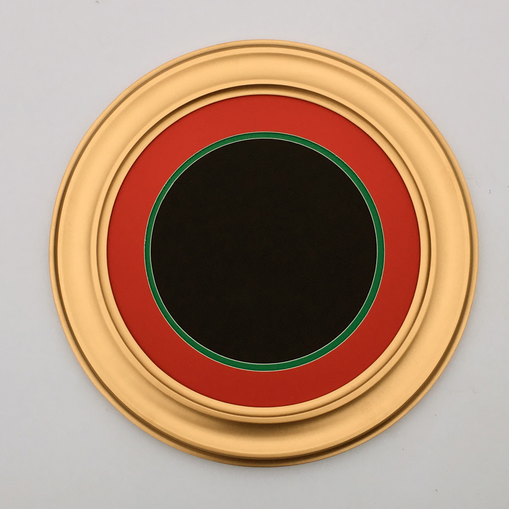 round-frame-gold-color-with-double-mat