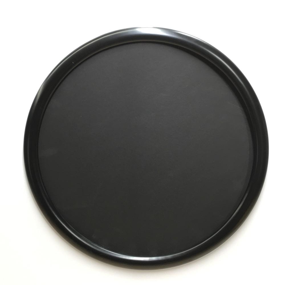 Round frames black in color