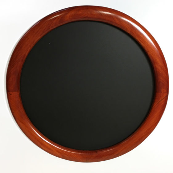 round frame stained red 2